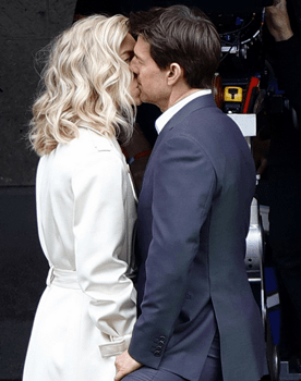 Venessa Kirby Kisses Tom Cruise On 'Mission Impossible 6'