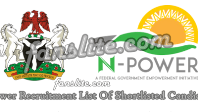 Npower Recruitment List Of Shortlisted Candidates