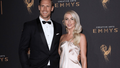 Newlyweds Julianne Hough & Brooks Laich Attend the Creative Emmy Awards