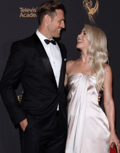 Newlyweds Julianne Hough & Brooks Laich Attend the Creative Emmy Awards