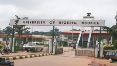 University Of Nigeria Nsukka Post UTME
