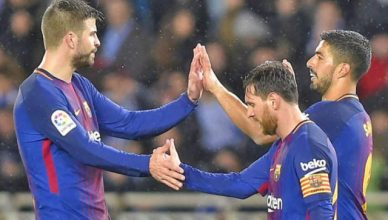 Barca begin home stretch to Liga title