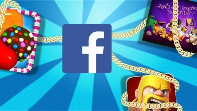 Facebook Games in Gameroom