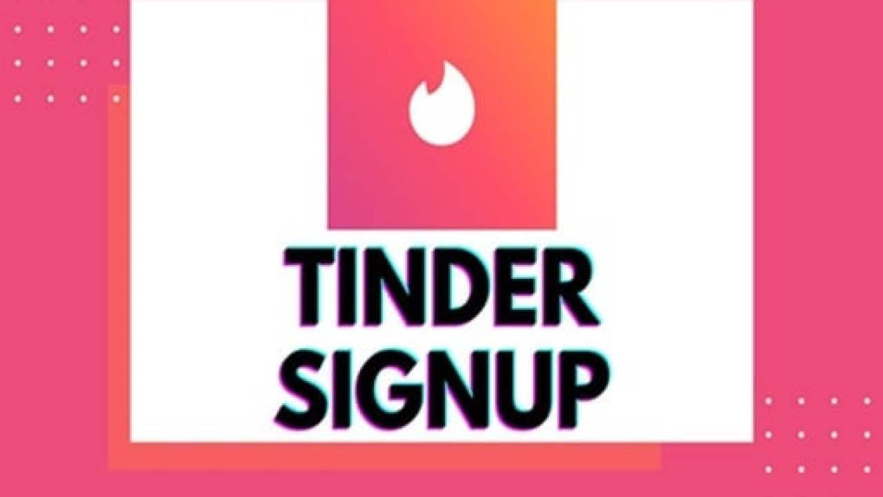 Www tinder com sign up