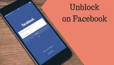 Unblock Friend in Facebook Profile