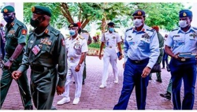 President Muhammadu Buhari has nominated the immediate past service chiefs of the nation as ambassadors.