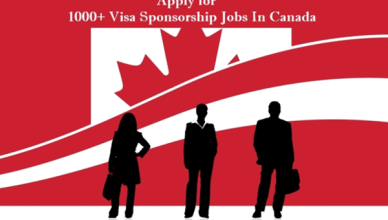 Visa Sponsorship Jobs in Canada