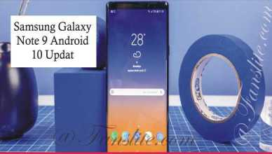 Samsung Galaxy - Note 9 Android 10: Samsung Galaxy Note 9 Android 10 Update
