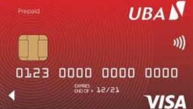 UBA Visa Dollar Credit Card - How to Apply for UBA Visa Dollar Card