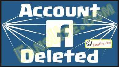 Facebook - Facebook Deleted – Facebook Deleted My Account | Facebook Deleted Messages