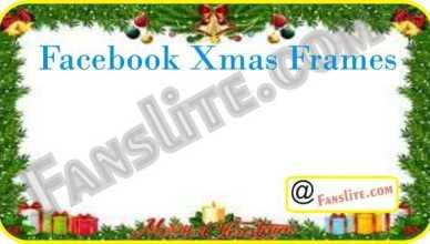 Facebook - Facebook Xmas Frames – Xmas Frames for Profile Picture | Profile Frames for Facebook