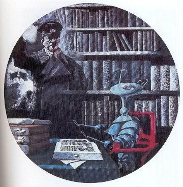 Il dittatore e lalieno, illustrazione di K. Thole