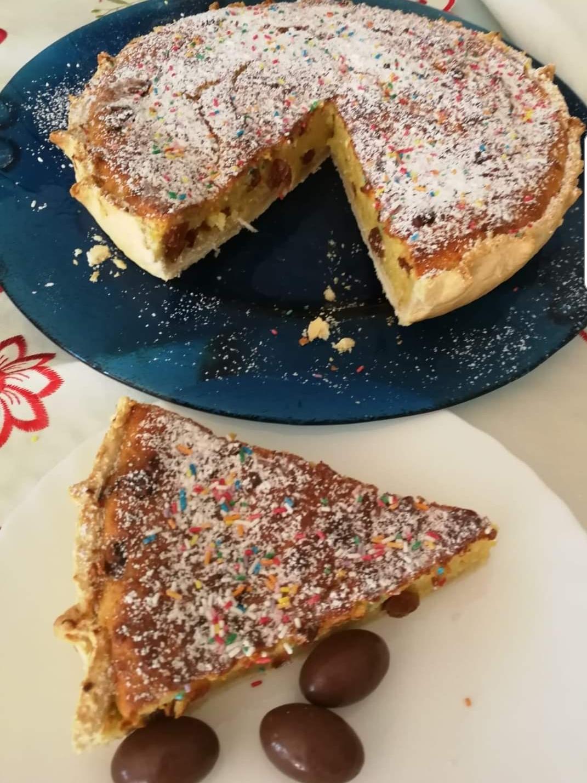 Torta formaggella o pardula gigante