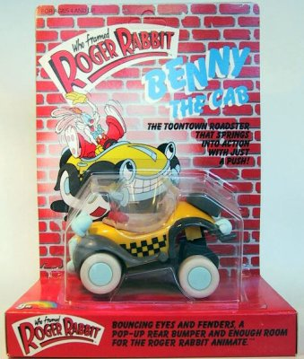 Benny The Cab Action Toy Car From Our Other Collection