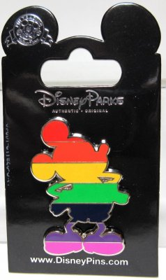 Mickey Mouse Pride Disney Pin From Our Pins Collection