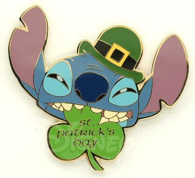 Stitch St Patricks Day Pin 2004 From Our Pins