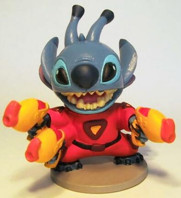 Stitch With Laser Guns PVC Figure From Our PVCs Collection
