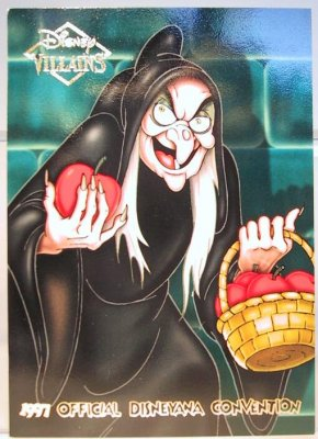 Hag Disney Villains 2 Sided Card From Our Other Collection