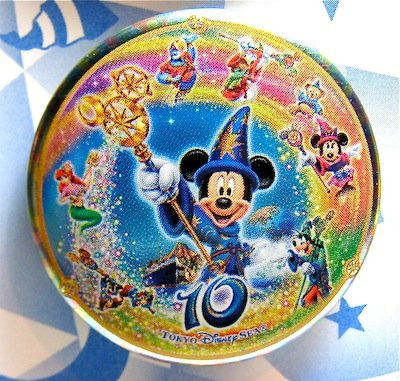 Tokyo Disney Sea 10th Anniversary Button From Our Buttons