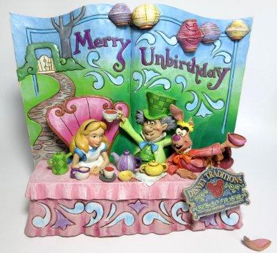 Merry Unbirthday Alice In Wonderland Story Book