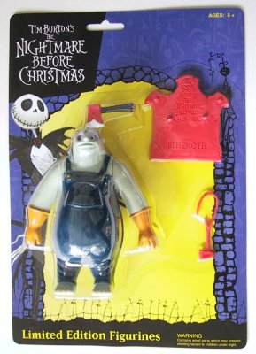 Behemoth Action Figure From Our Nightmare Before Christmas