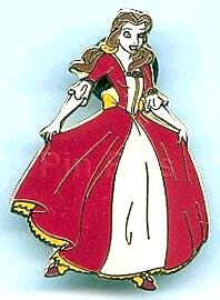 Belle In Red Dress Pin From Our Pins Collection Disney