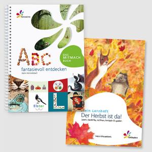 ABC fantasievoll entdecken - Buchstaben lernen • Der Herbst ist da!