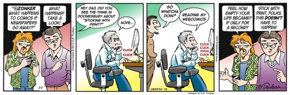 Doonesbury Webcomics Snark