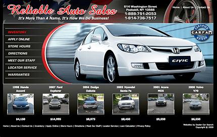 Reliable Auto Web Site