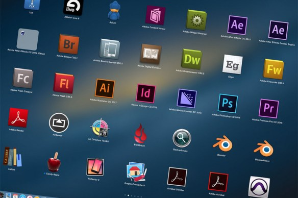 Graphic Applications on my Mac PRo. -