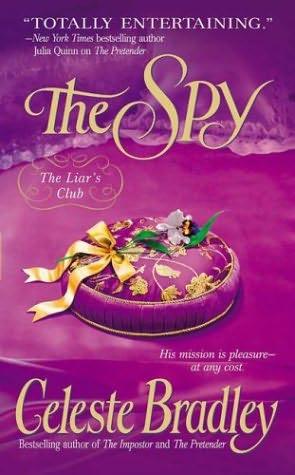 book cover of   The Spy    (Liar's Club, book 3)  by  Celeste Bradley