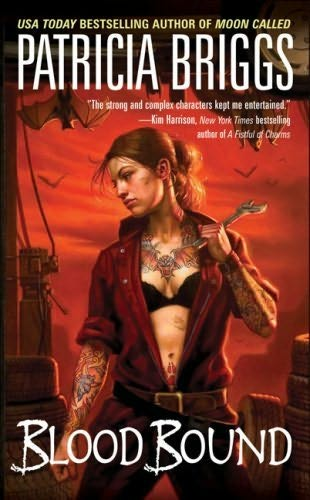book cover of Blood Bound (Mercedes Thompson, book 2) by Patricia Briggs