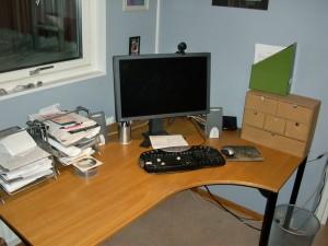 Efter - skrivbord