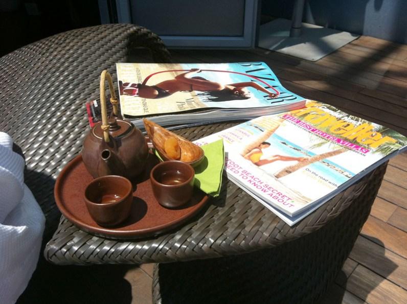 Empezando el día divinamente en el Six Senses Spa del Hotel Arts #080seatday