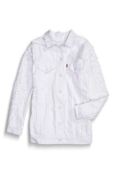 Levi's White on White