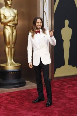 Jared Leto @ Oscars 2014