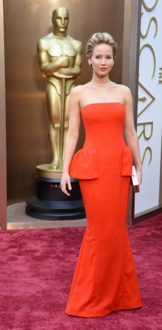 Jennifer Lawrence @ Oscars 2014