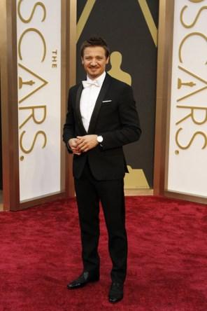 Jeremy Renner @ Oscars 2014