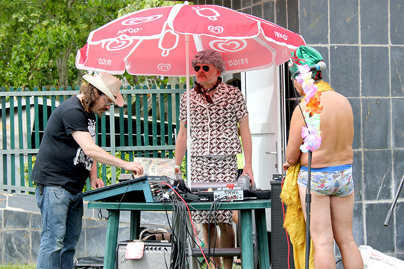 DJ Granny Fuzz & Friends @ Munster Raving Loony Party