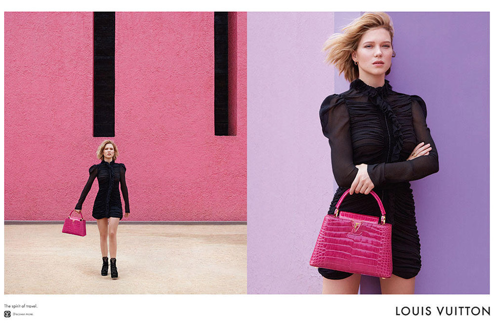 Léa Seydoux x Louis Vuitton