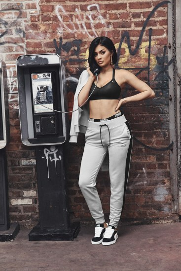 Puma Suede con Kylie Jenner