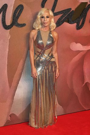 Donatella Versace @ Fashion Awards 2016
