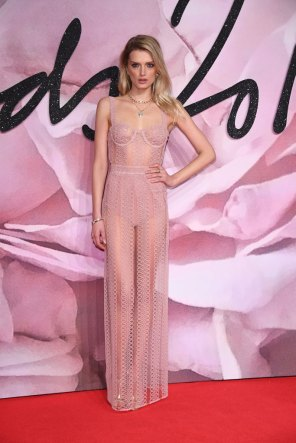 Lily Donaldson @ Fashion Awards 2016