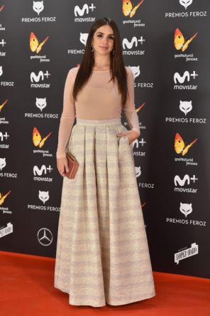 Elena Furiase @ Premios Feroz 2017