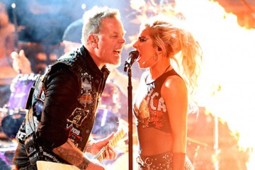 Lady Gaga y Metallica