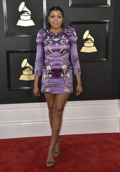 Taraji P. Henson @ Grammy 2017