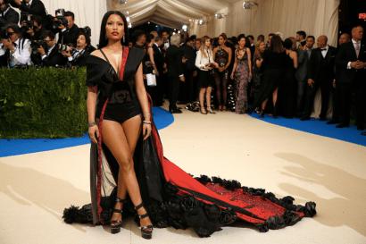 Nicki Minaj @ Met Gala 2017