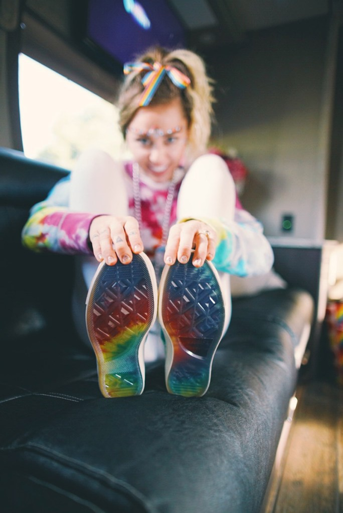 Miley Cyrus x Converse Pride Collection