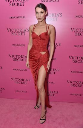 Bella Hadid @ Victoria's Secret Show 2017
