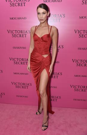 Bella Hadid @ Victoria's Secret Show 2017
